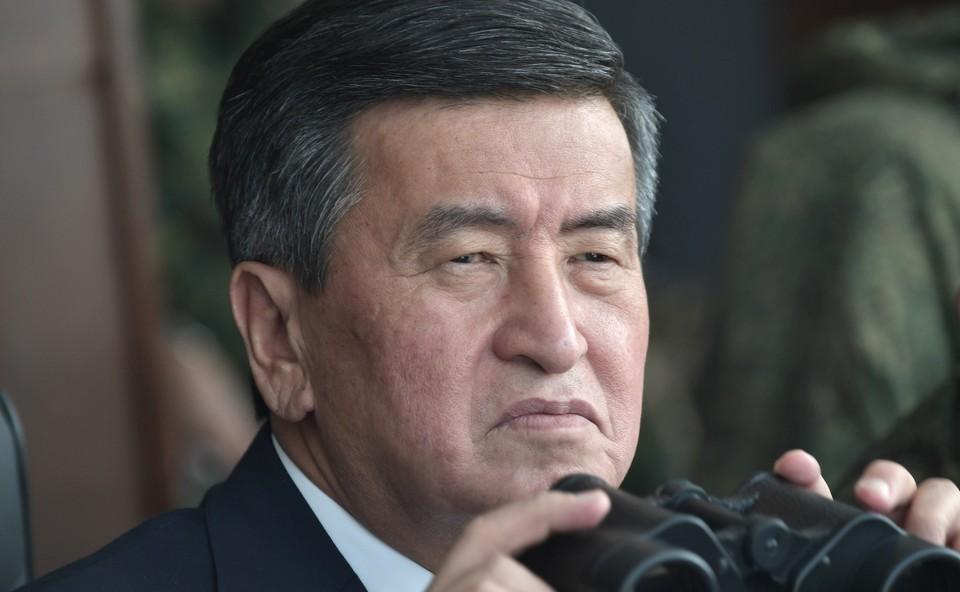 Ранее в Киргизии заявили, что президент Жээнбеков исчез