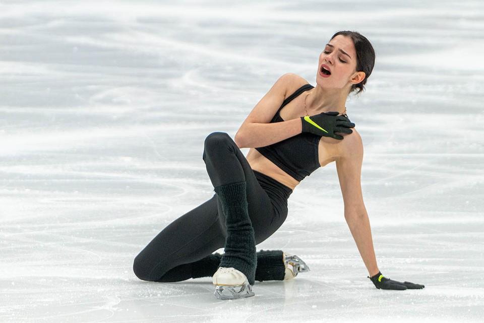 Спортсменка отказалась от выступления из-за обострившейся травмы