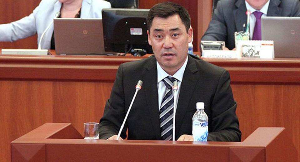Парламент утвердил Садыра Жапарова премьер-министром.