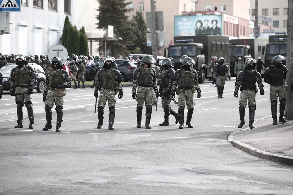 В Беларуси в воскресенье, 11 октября, задержали около четырех десятков журналистов, освещавших акции протеста. (Фото носит иллюстративный характер).