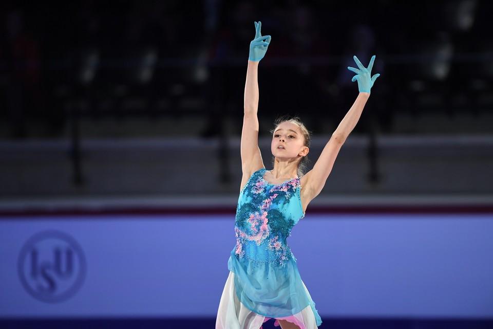 Камила Валиева стала второй на Кубке России вслед за Александрой Трусовой.