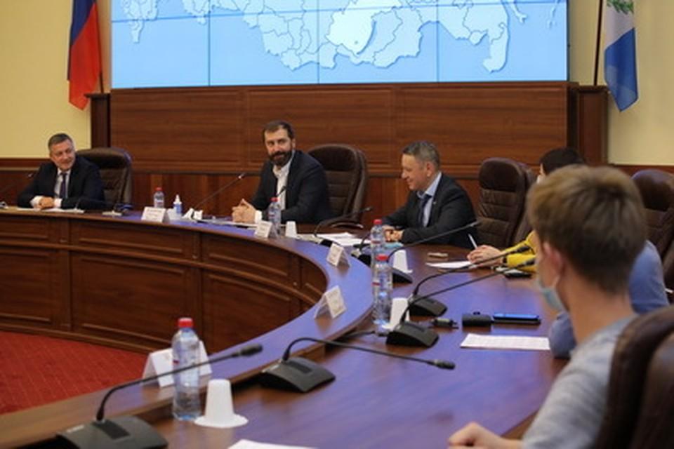 Председатель Законодательного Собрания поприветствовал иркутских студентов -финалистов конкурса «Космофест Восточный – 2020».