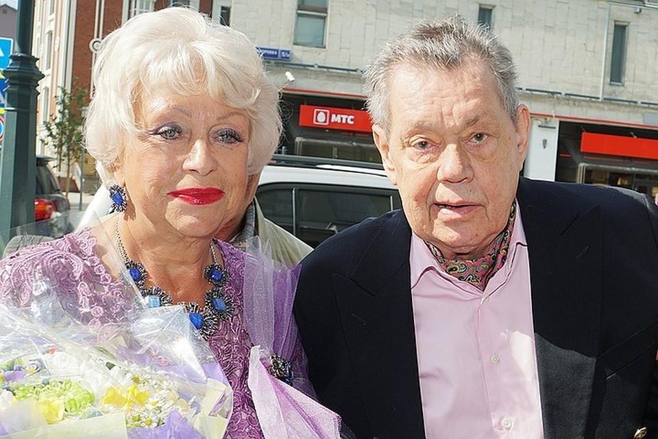 Людмила Поргина с мужем.