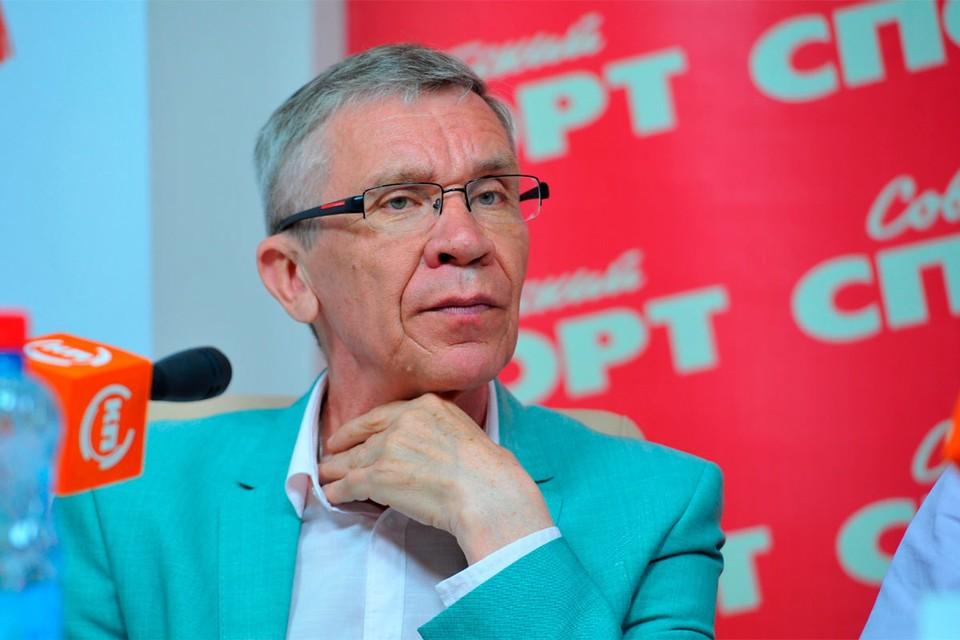 Президент Детской футбольной лиги Виктор Горлов