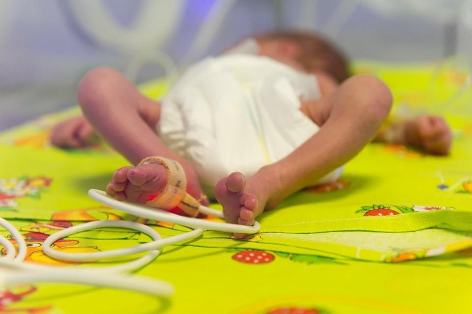 Малыш появился на свет с небольшим недобором в весе