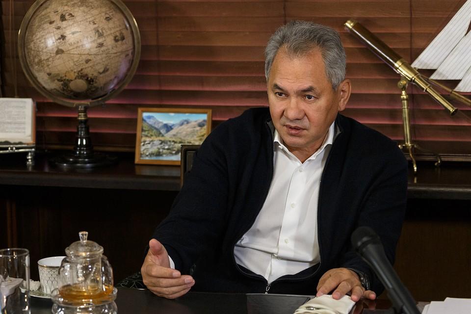В Русском географическом обществе презентовали книгу, которую написал министр обороны и президент РГО Сергей Шойгу