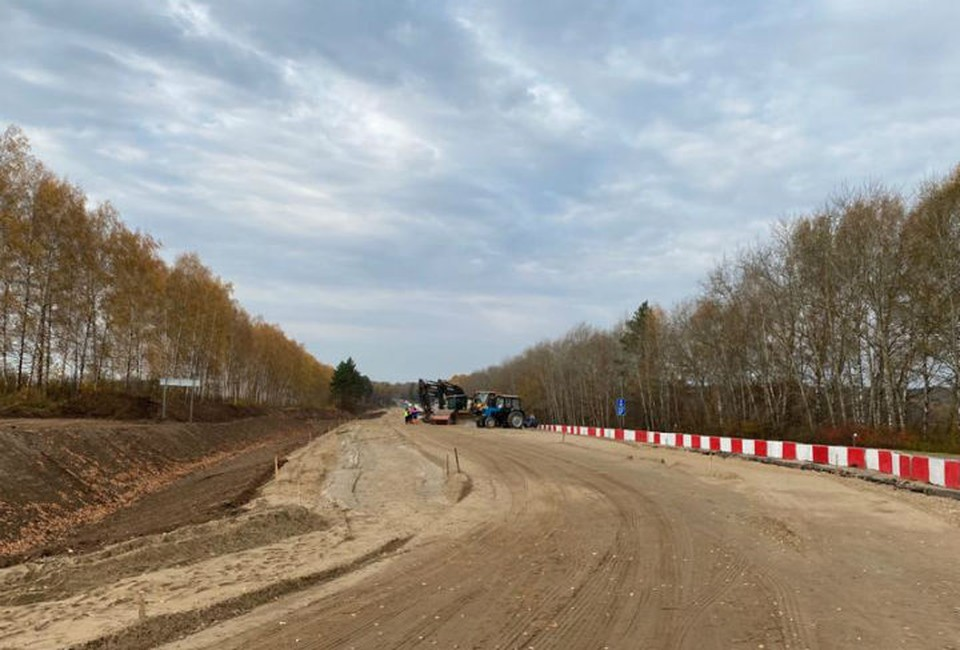 Началось строительство четвертой очереди южного обхода Нижнего Новгорода
