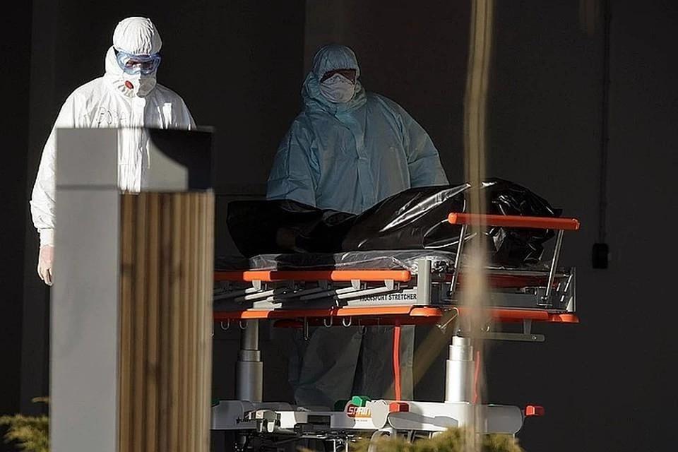 В Москве за сутки умерли 54 пациента с коронавирусом