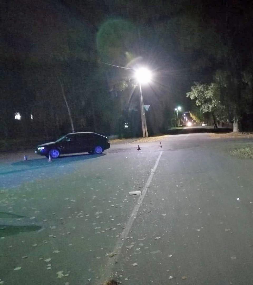 В Уметском районе под машину попали мужчина и ребенок