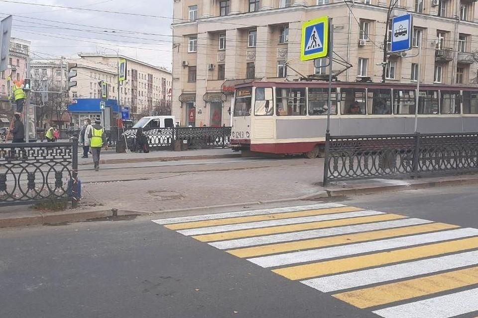 Вот так сейчас выглядит переход. Фото: пресс-служба администрации Челябинска