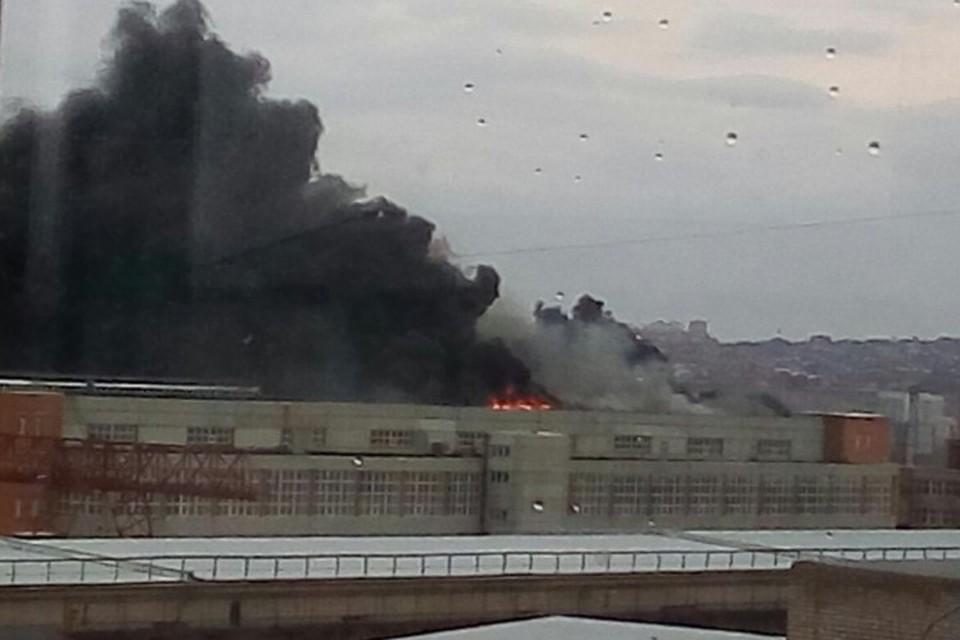 Пожар уже ликвидирован Фото: ЧП-Красноярск