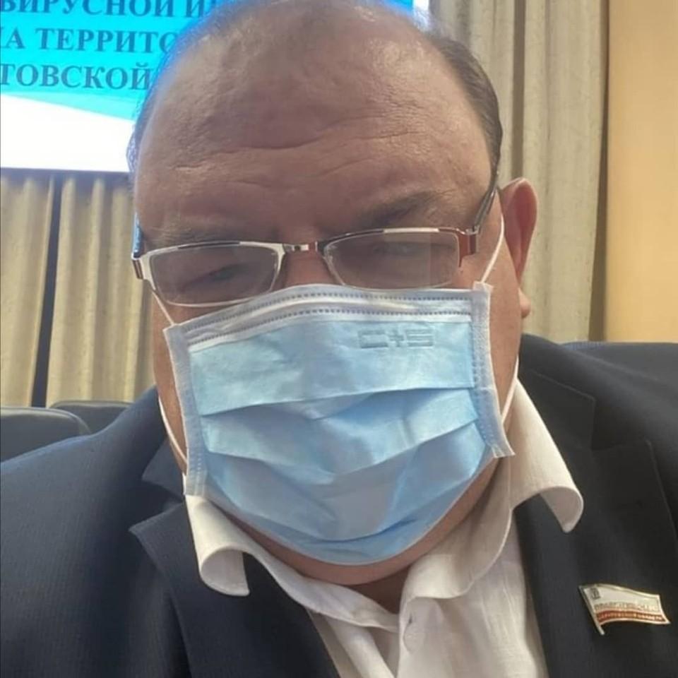 Министр здравоохранения Саратовской области Олег Костин. Фото из его Instagram