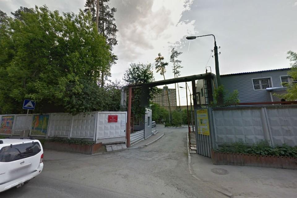 Заезд в пансионат Фото: google.ru/maps