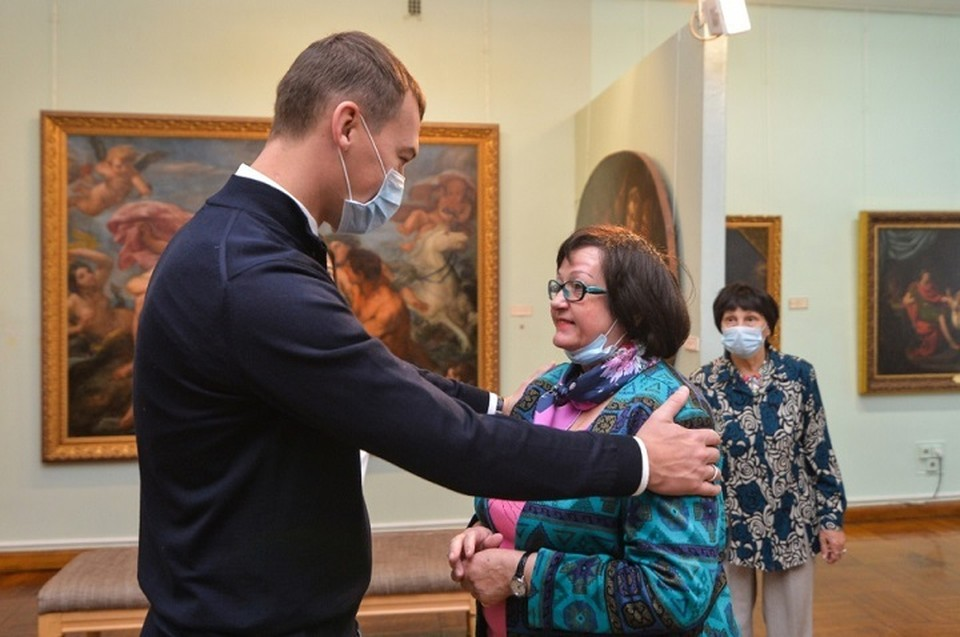 Михаил Дегтярев согласился, что музею нужна финансовая поддержка