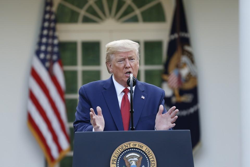 Трамп заявил, что после создания нового оружия США будут выстраивать мир с позиции силы