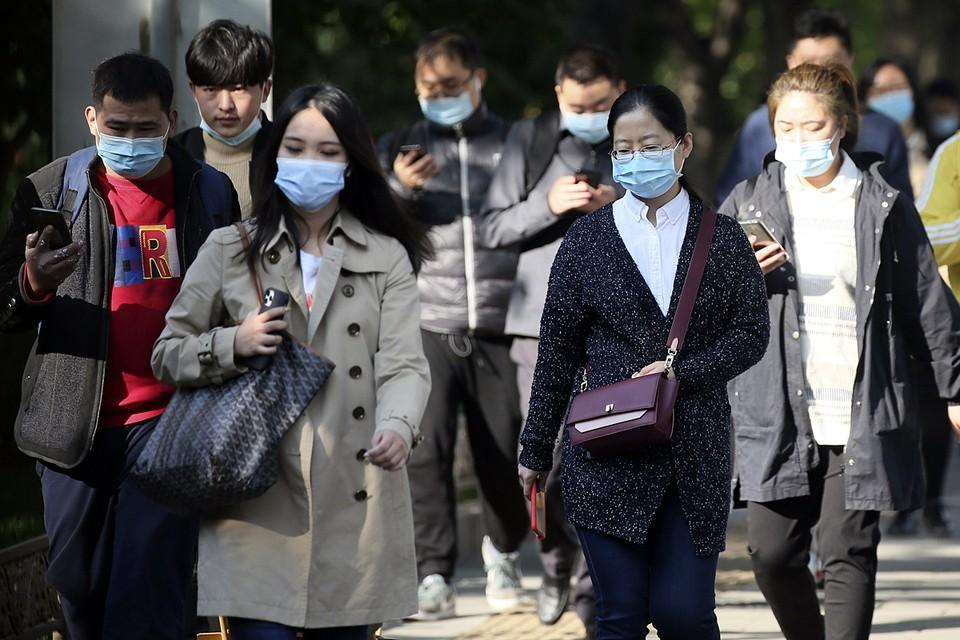 До сих пор во всем Китае действует масочный режим и социальное дистанцирование