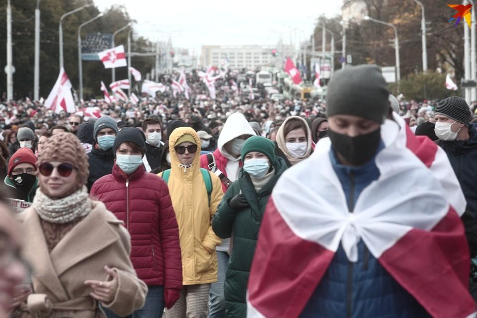 Следим, что происходит в Минске и других городах в воскресенье 18 октября