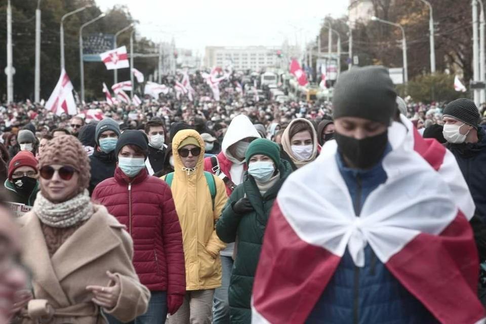 Протесты в Белоруссии, последние новости на 20 октября 2020 года: что сейчас происходит в Республике