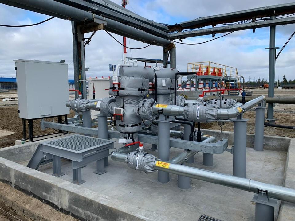 АО «Транснефть - Сибирь» ввело в эксплуатацию систему измерения количества и качества нефти на НПС «Холмогоры» после реконструкции