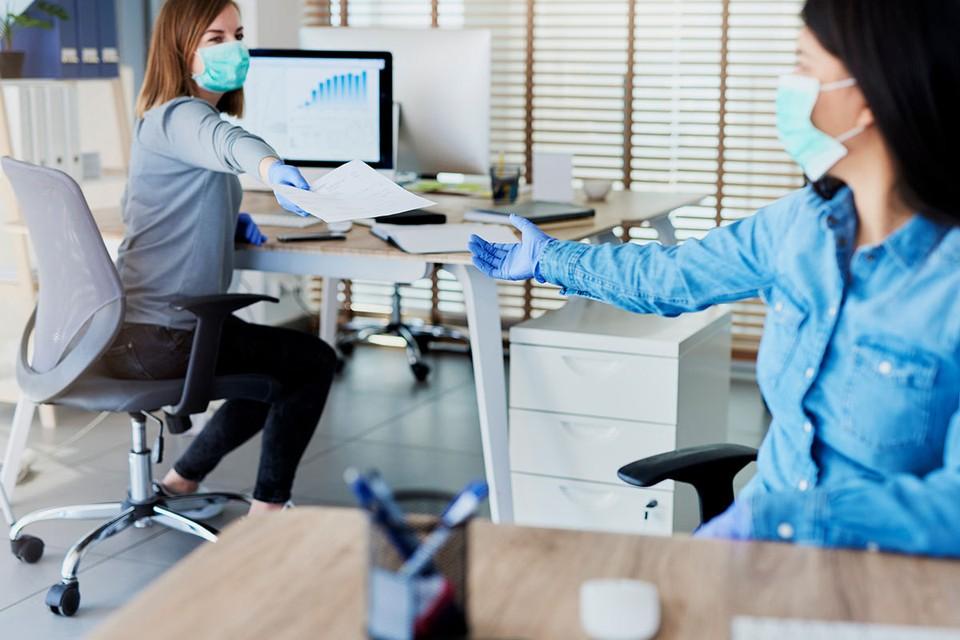 Идеальный офис времен коронавируса