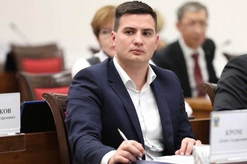 Денис Кром заместитель председателя постоянного комитета по вопросам государственного устройства и местного самоуправления