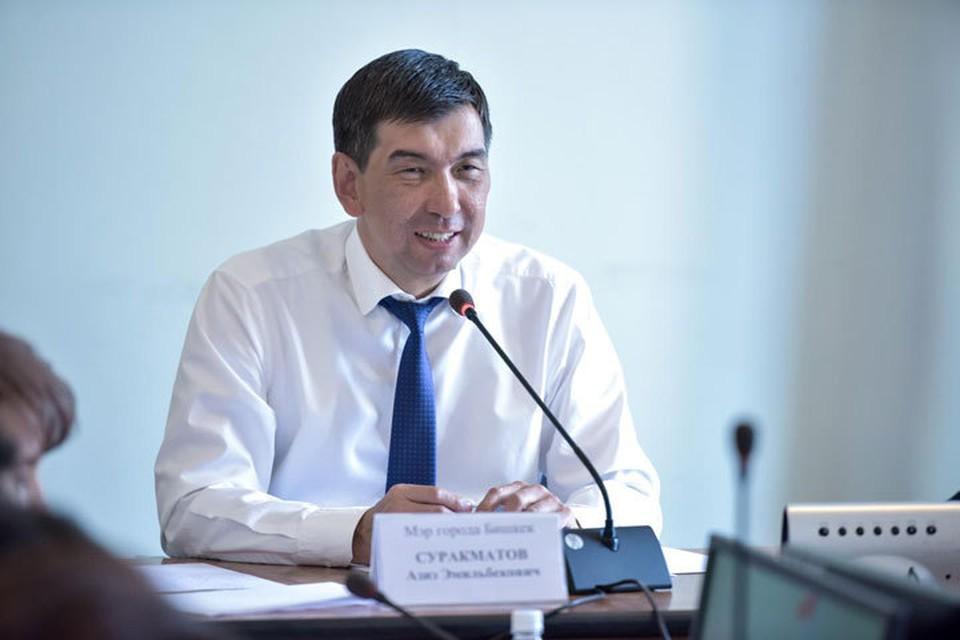 Теперь официально. Премьер принял отставку мэра Бишкека.