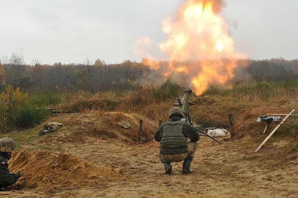Украинские боевики из Авдеевки обстреляли из минометов предместье Ясиноватой. Фото: штаб «ООС»