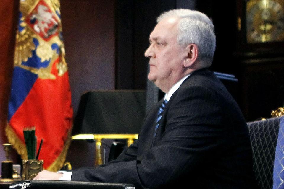 Первый заместитель директора ФСБ Сергей Смирнов отдал службе 46 лет и ушел на пенсию