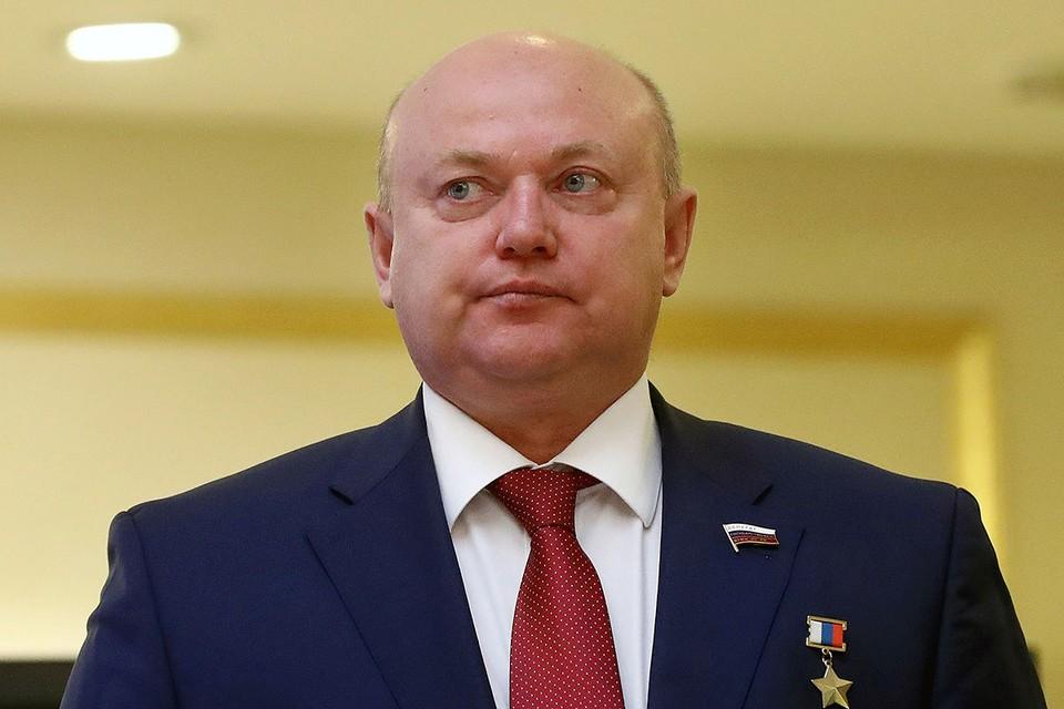 Член комитета Госдумы РФ по обороне Андрей Красов. Фото: Станислав Красильников/ТАСС
