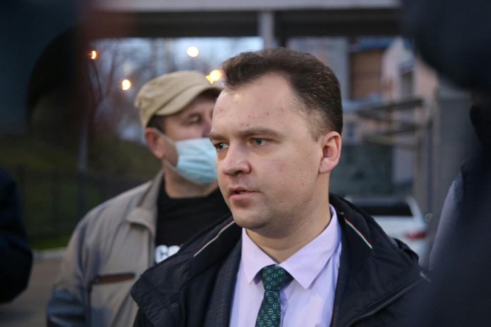 Алексей Прохоров, адвокат Анатолия Быкова