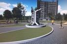В Воронеже в одноименном сквере установили памятный знак Василию Шукшину