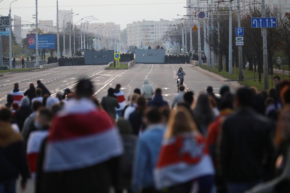 В Минске сообщили о задержаниях на акциях протеста