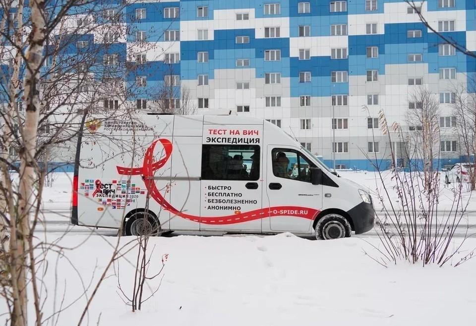 Акция «Тест на ВИЧ: Экспедиция 2020»: на Ямале протестировано более 700 человек