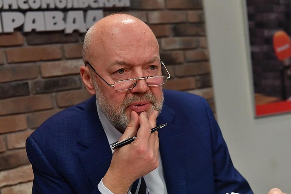 Глава Комитета по законодательству Павел Крашенинников
