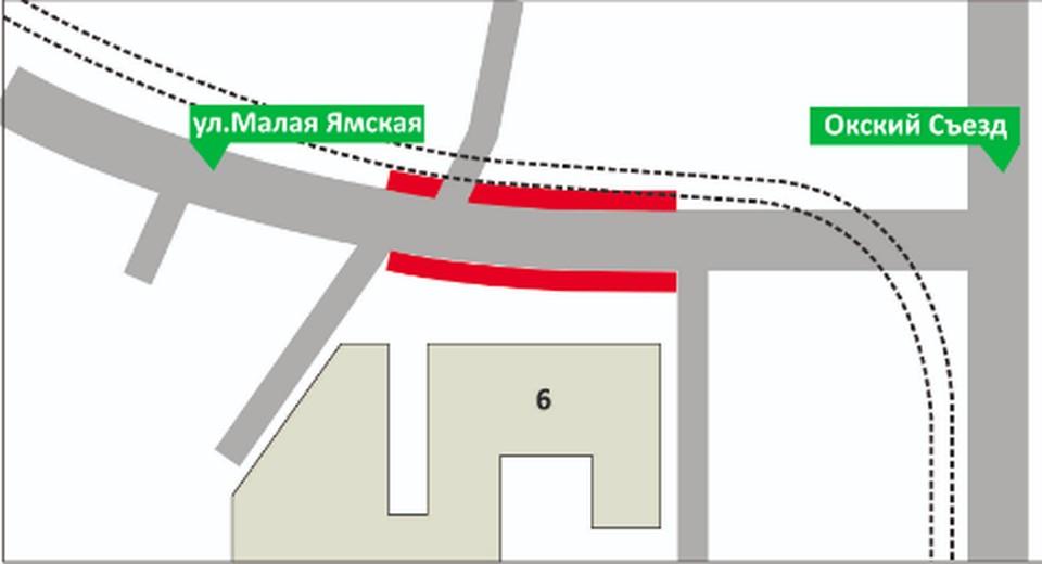 Остановку транспорта запретят на Окском съезде с 16 ноября