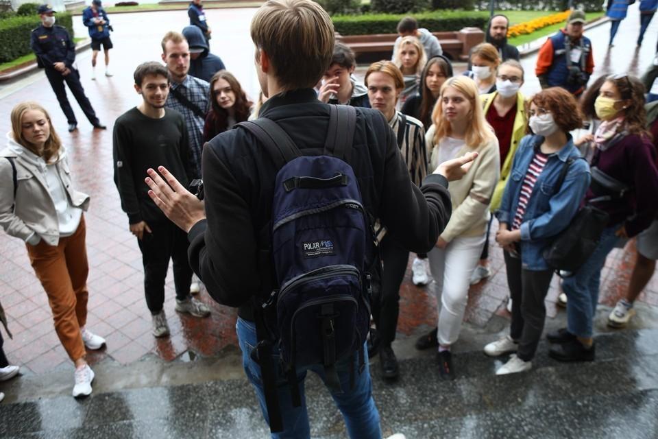 История произошла в учебном корпусе №4 Белорусского государственного университета информатики и радиоэлектроники