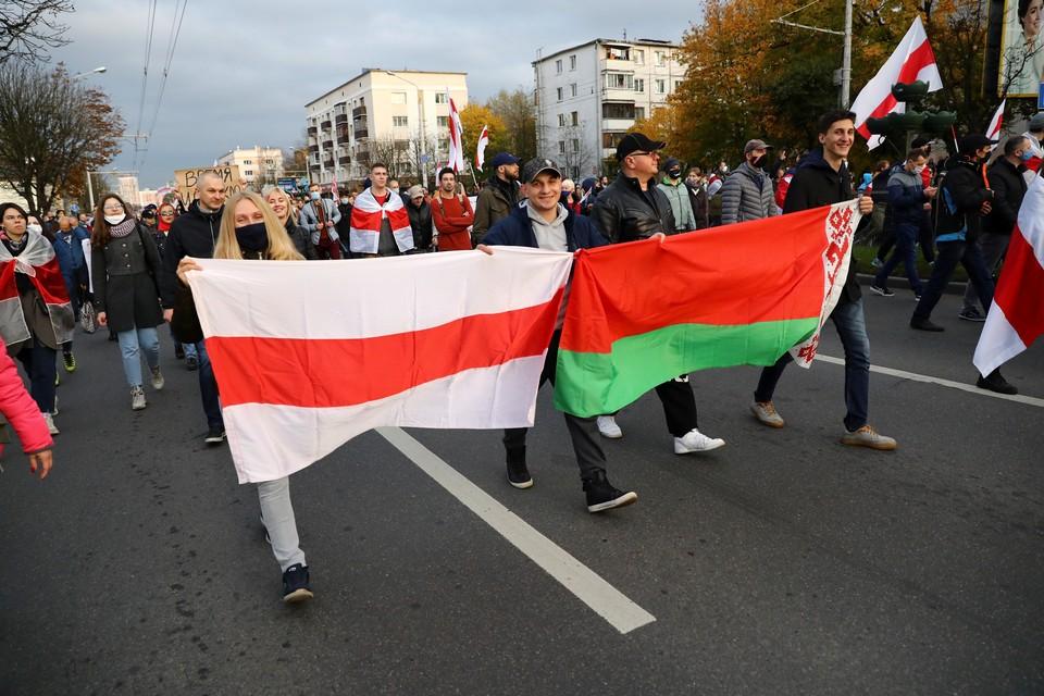 Протесты в Белоруссии не утихают с августа.