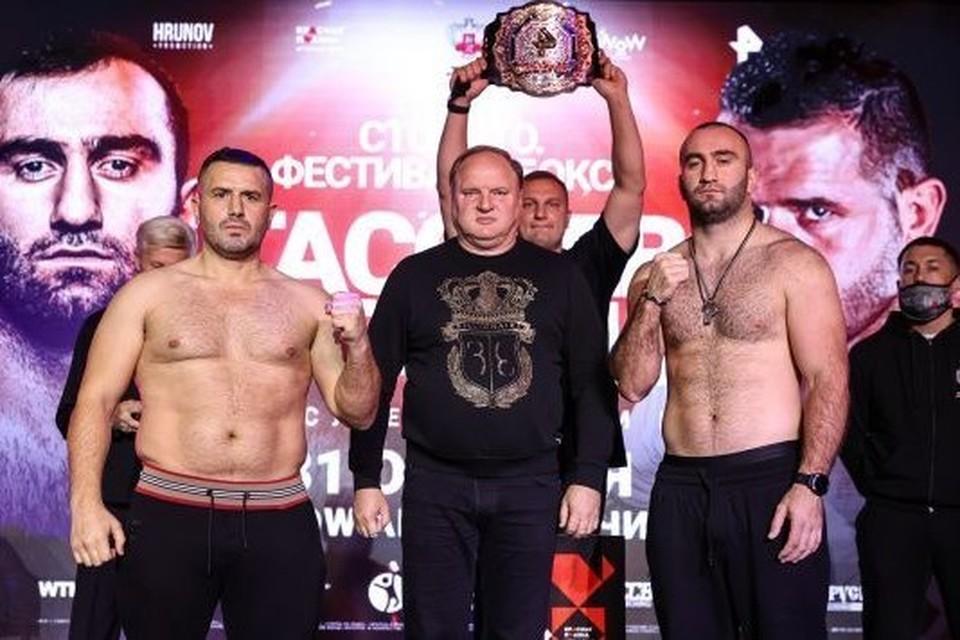 Поединок Мурат Гассиев - Нури Сефери начнется после 22:00 Фото: Федерация бокса России