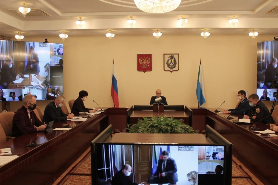 Ситуацию с коронавирусом обсудили в краевом правительстве