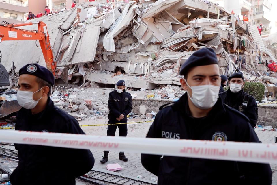 30 октября на западе Турции произошло мощное землетрясение