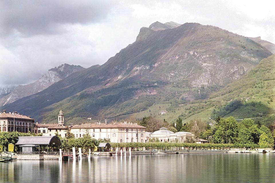 Престижный швейцарский курорт Лугано в начале ХХ века. Фото: S.M.Prokudin-Gorskii/Wikimedia Commons