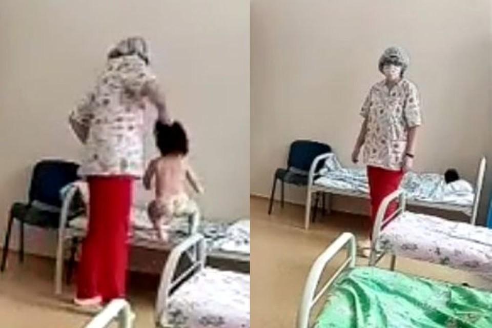 За 10 лет работы к медсестре не было нареканий. Фото: стоп-кадр.