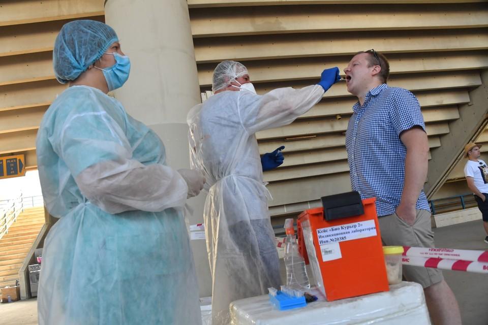 Пациентов выписывают после получения результатов двух тестов на коронавирус