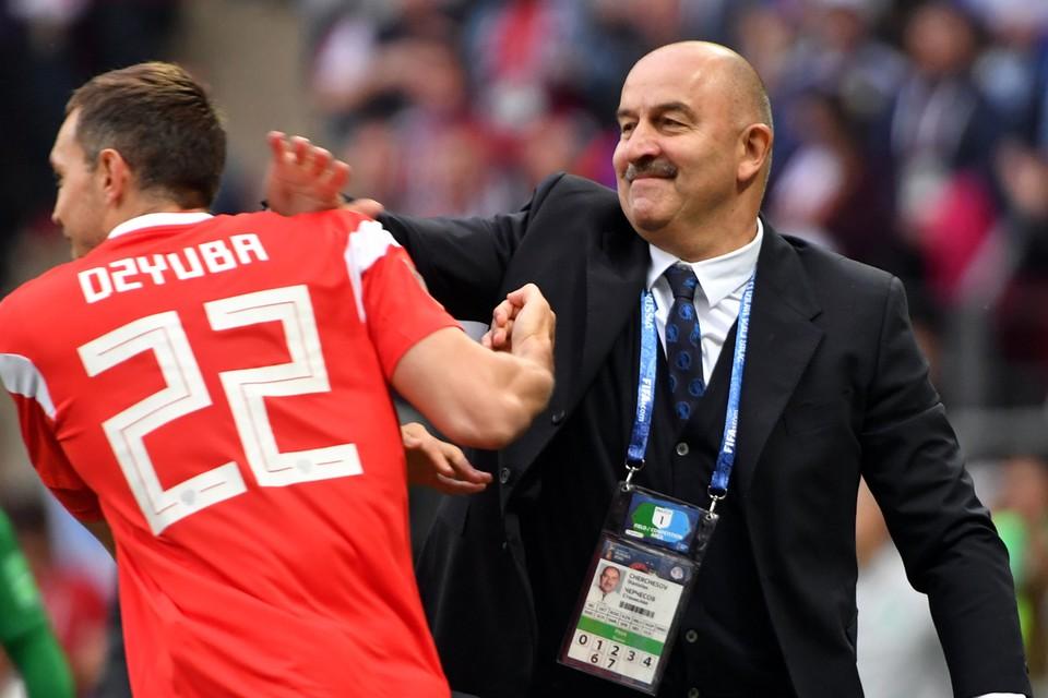 Станислав Черчесов еще раз рассказал, почему на три важных матча не вызван капитан команды Артем Дзюба