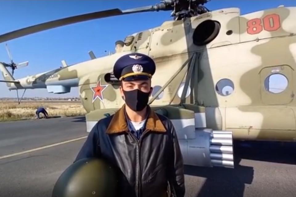 Старший лётчик – капитан Руслан Бердюгин рассказал о прикрытии колонны миротворческих сил вертолётами Ми-8 и Ми-24 по маршруту «Эребуни – Горис»