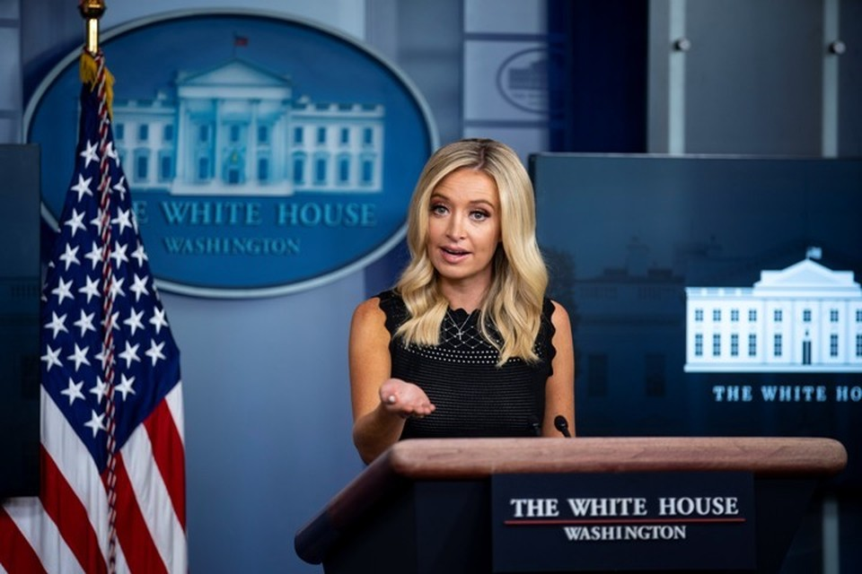 Пресс-секретарь Белого дома Кейли Макинэни, выступавшая в качестве представителя избирательного штаба Дональда Трампа