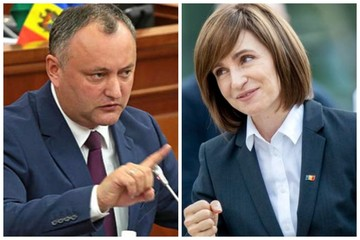 Выборы президента Молдовы 2020: Решающая битва за главное кресло страны между Додоном и Санду может перерасти в массовые протесты