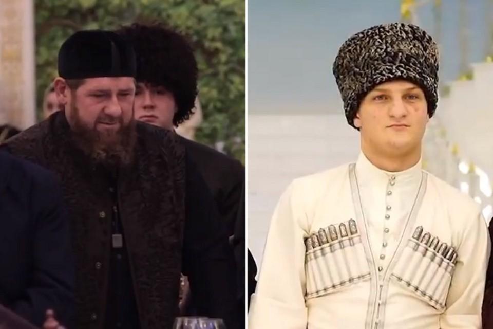 Рамзан Кадыров был глубоко растроган важнейшим моментом в жизни сына Ахмата. Фото: кадры видео