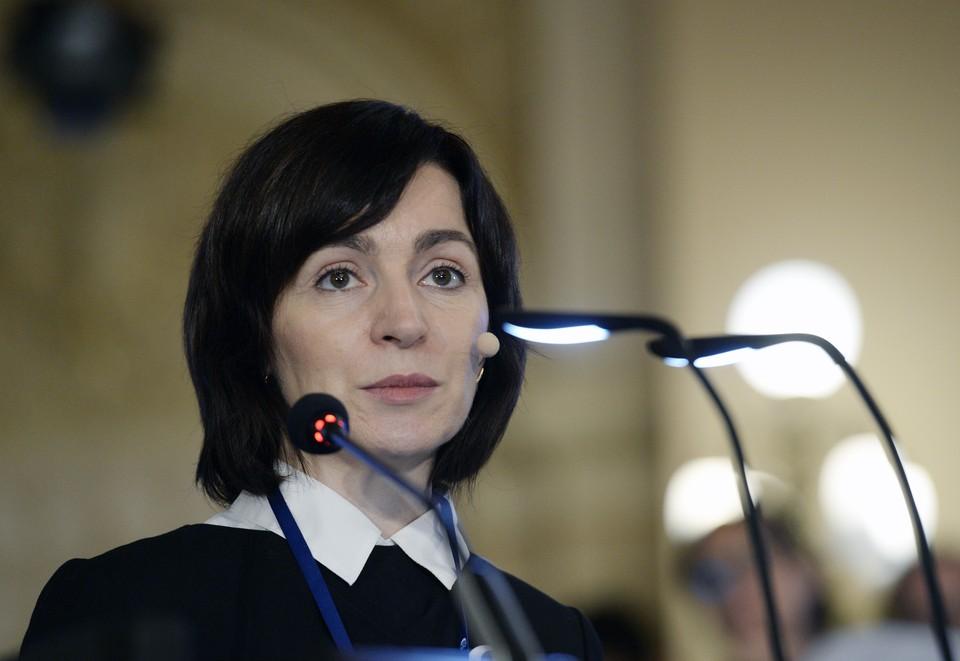 Санду побеждает на выборах президента Молдавии с 57,7%