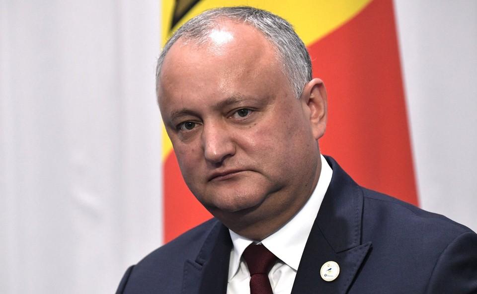 Игорь Додон отметил, что работа в политике непредсказуема.